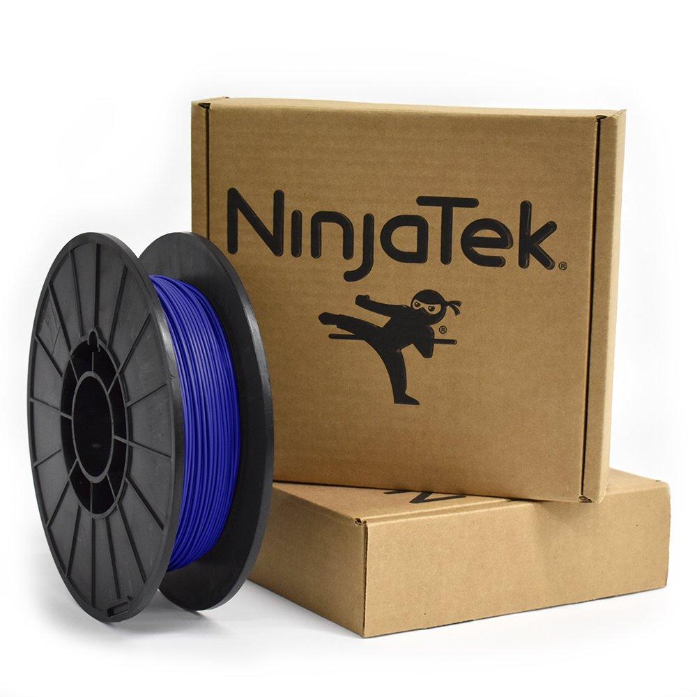 Ninjatek sapphire blue cheetah flexible filament