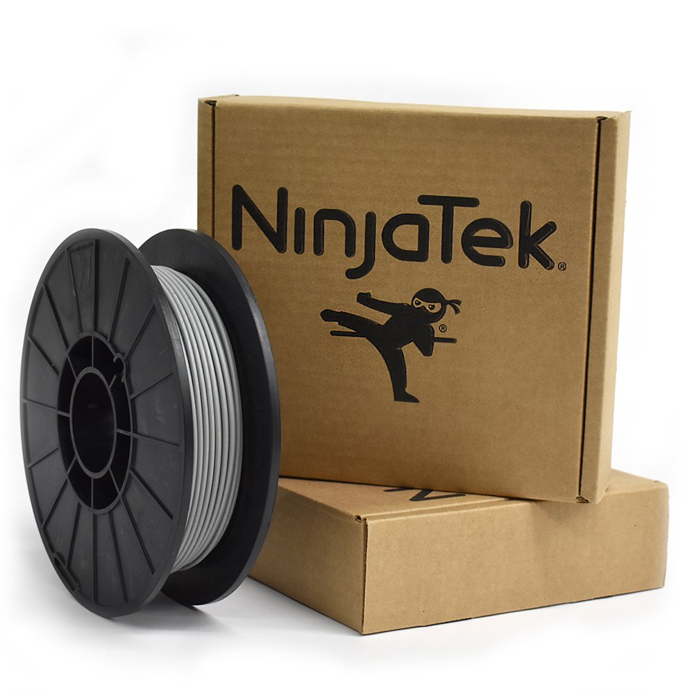 Ninjatek steel grey cheetah flexible filament
