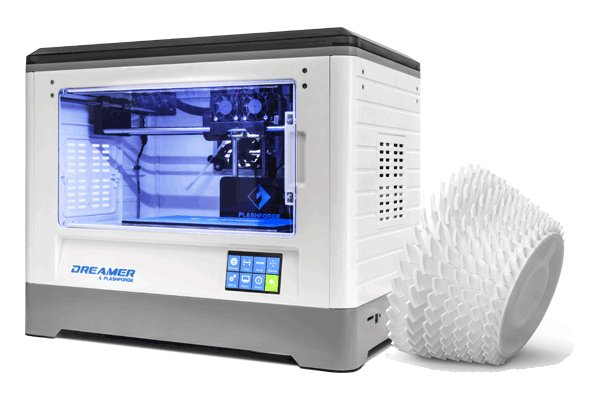 The Dreamer is a high quality dual extruder 3D printer