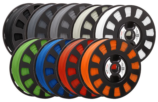Colour range of Cel-Robox Titan X ABS filament