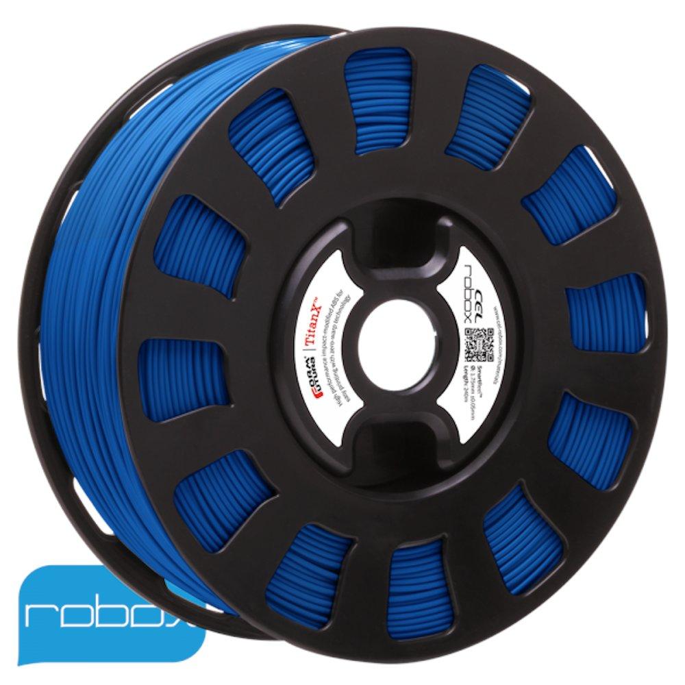 Blue Titan-X ABS filament for Robox 3D printers