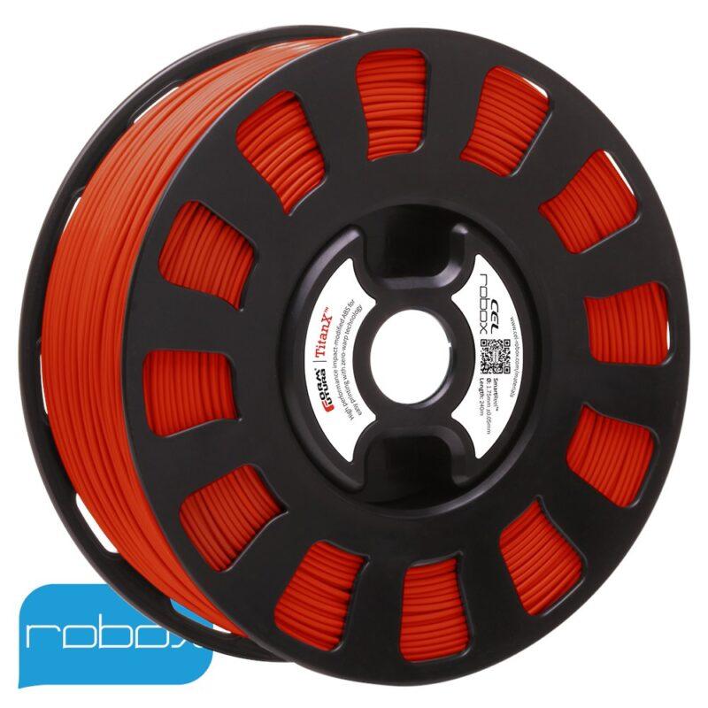 Red Titan-X ABS Robox Filament