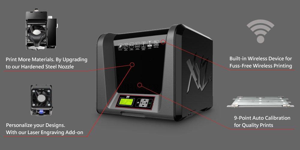 Da Vinci Junior Wifi Pro - 3FJPWXEU00E - Features