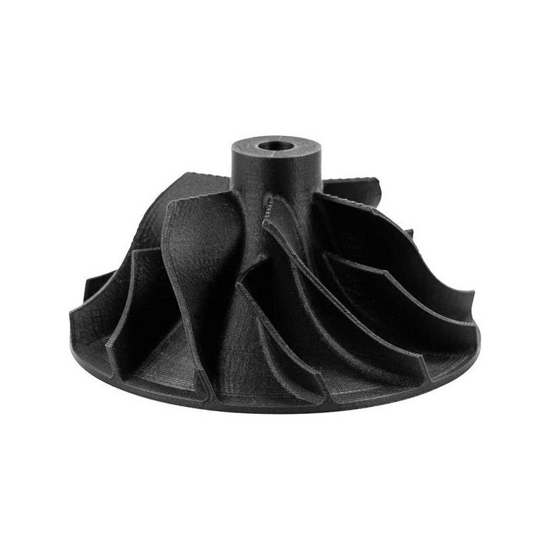 example turbine blade carbon pla
