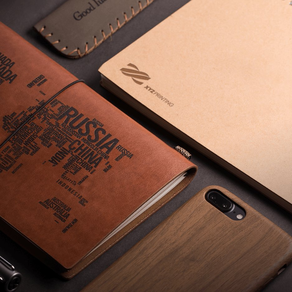 example of laser engraving with XYZ printing