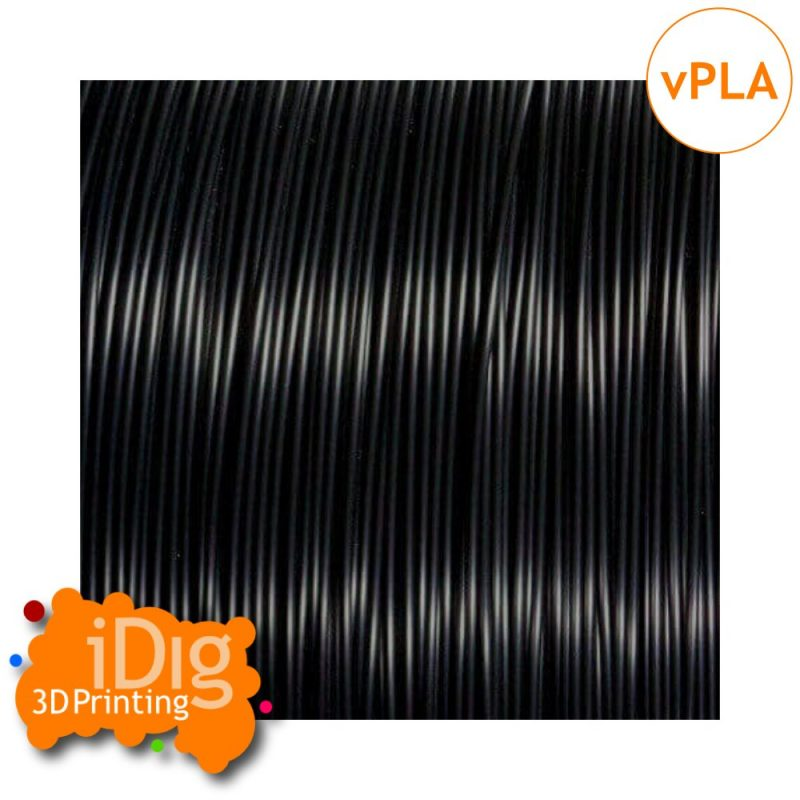Black conductive v-PLA filament