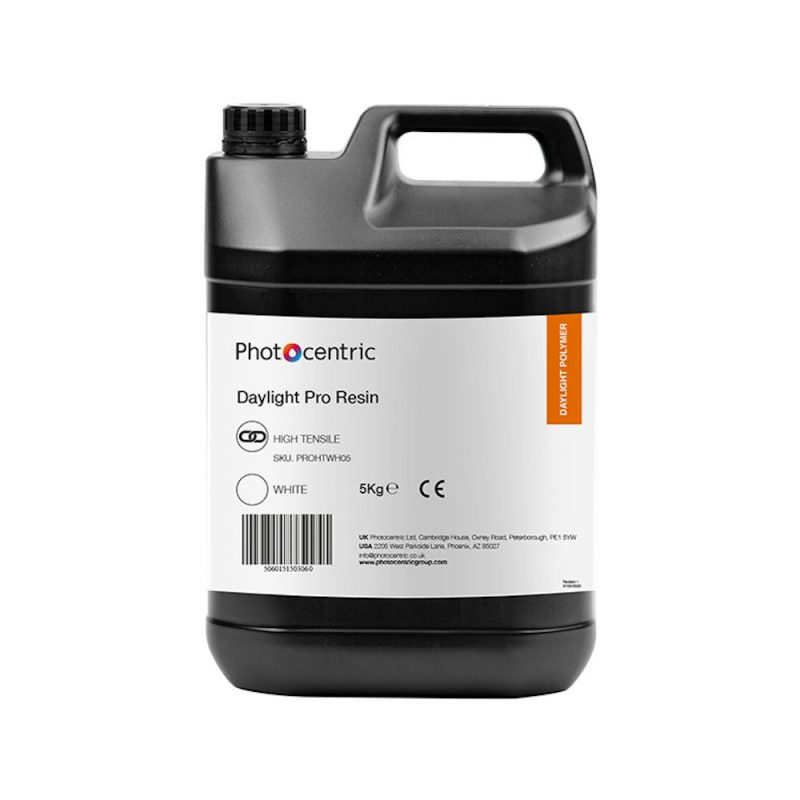 Photocentric Pro High Tensile Daylight resin