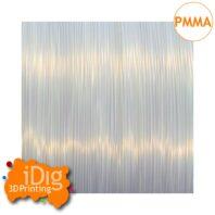 Natural Transparent PMMA 3D printer filament