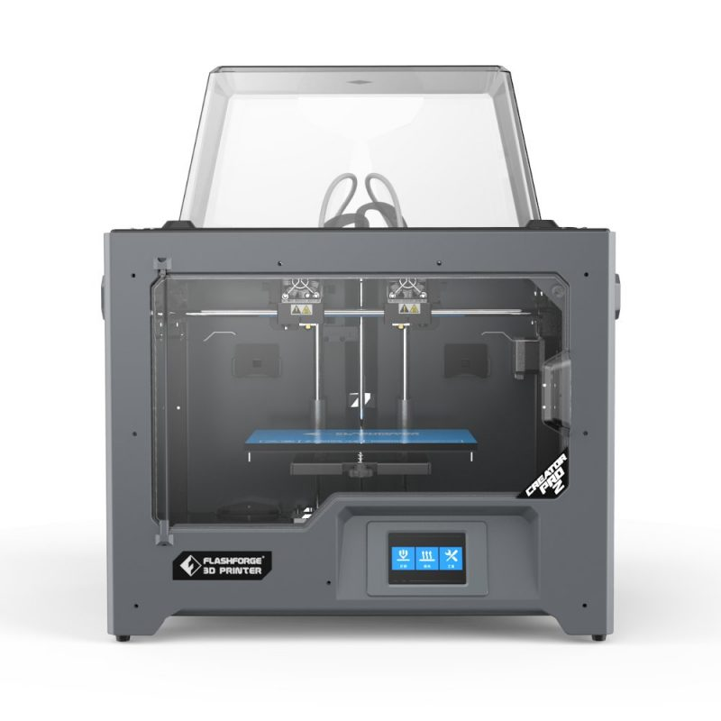 The Flashforge Creator Pro with IDEX system