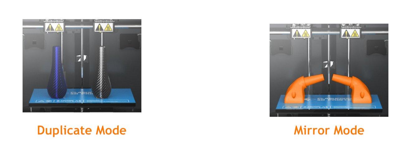 Flashforge Creator Pro 2 Print Modes