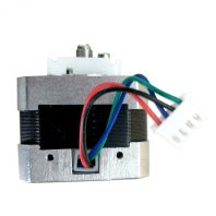 Tiertime extruder motor assembly - BC0133 - side view