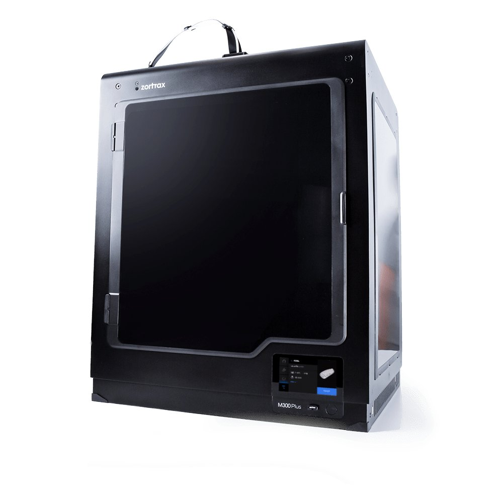 The ortrax M300 Plus large format 3D printer