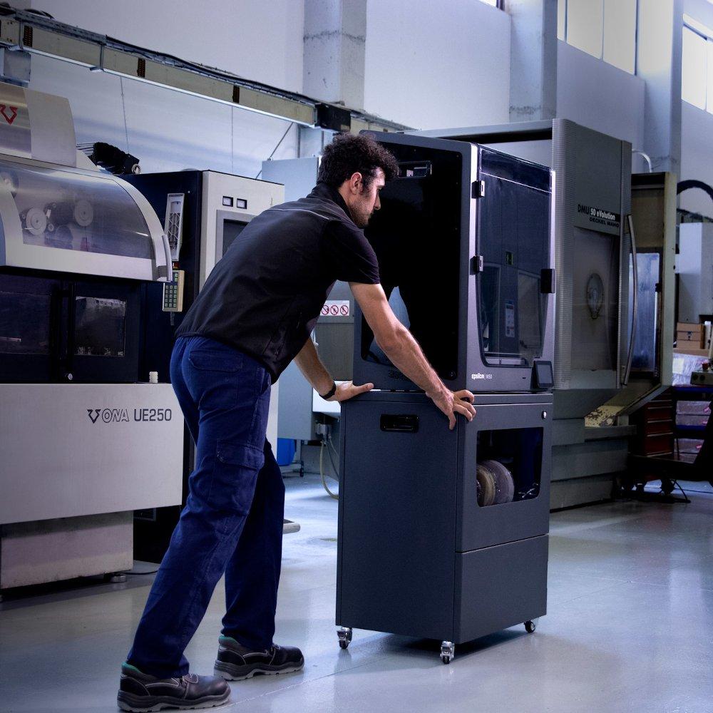 BCN3D Epsilon Smart Cabinet - mobile 3D printer storage