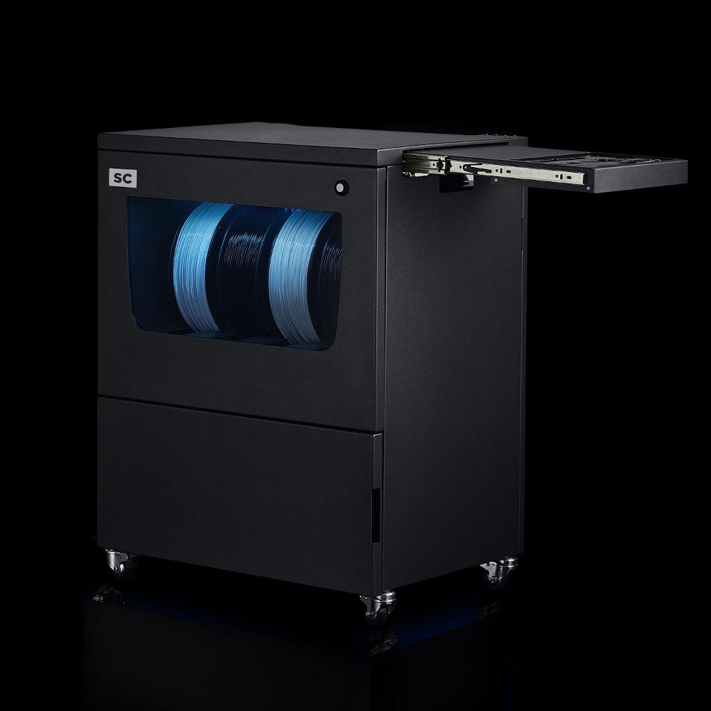 BCN3D Epsilon Smart Cabinet - right view