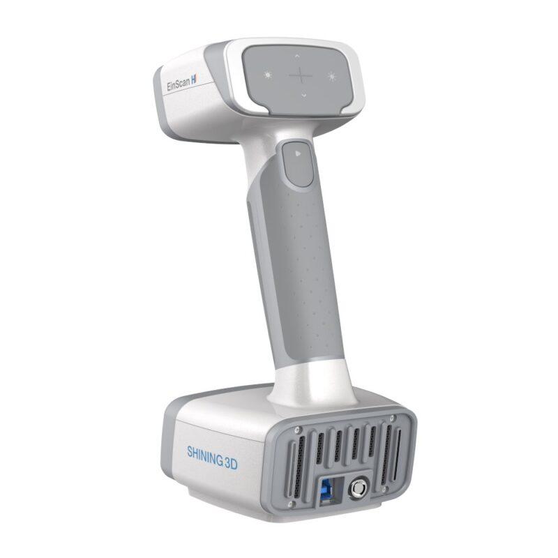 Einscan H handheld 3D scanner - rear view