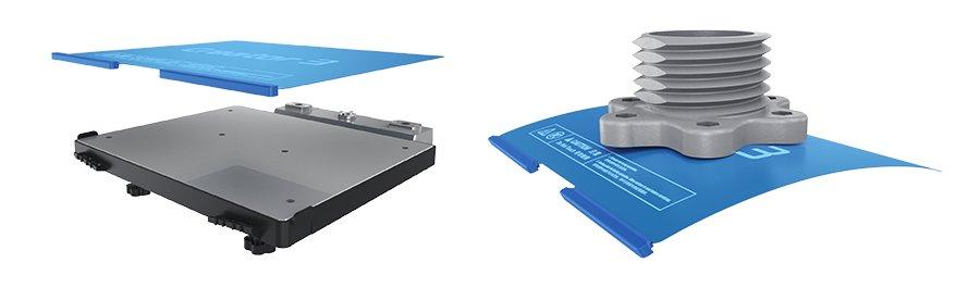 Flashforge Creator 3 - removable flexible build plate